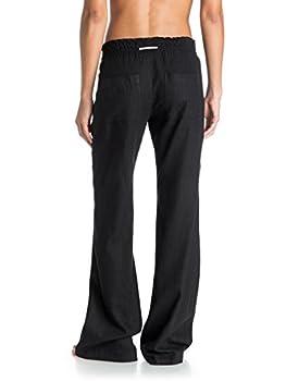 Roxy Women Oceanside Pant, Black (Anthracite), Large 1