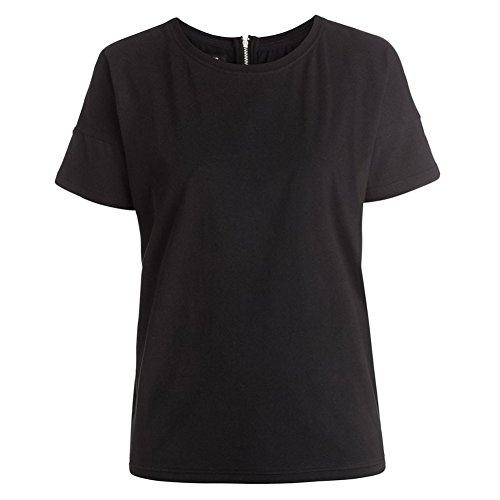 DC Shoes Cliff Over - Back Zip T-Shirt - Tee-Shirt avec zip dans LE dos - Femme