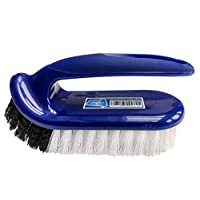 Saplax Multi-Purpose Scrubbing Brush - Heavy Duty Bathroom, Kitchen, Carpet, Floor, Car, Bath & Household Cleaning Brush with Handle