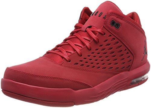 Nike Herren Jordan Flight Origin 4 Basketballschuhe, Rot (Gym Redblack 601), 45.5 EU (Gym Jordan)