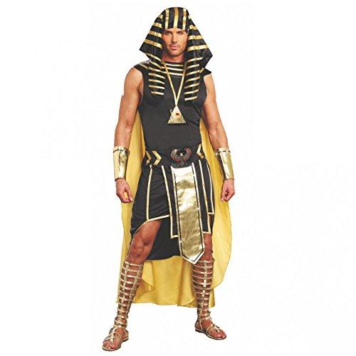 Kostüm Ägyptische Herrscher - Dreamgirl Kostüm Pharao Unas Gr. M- XL König Ägyptens Verkleidung Karneval Ägypter (M)