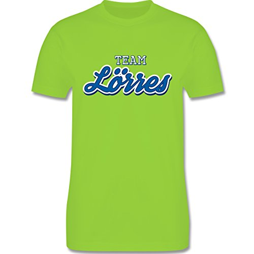 Typisch Männer - Team Lörres - Herren Premium T-Shirt Hellgrün