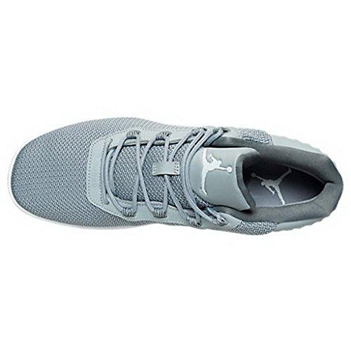 Nike Jordan Academy, espadrilles de basket-ball homme Gris (Gris (wolf grey/white-cool grey))