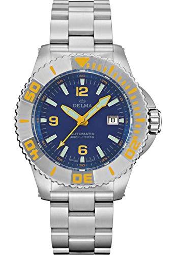 DELMA - Armbanduhr - Herren - Blue Shark III - 41701.700.6.044
