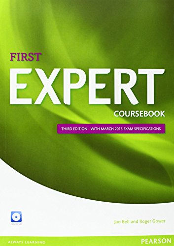Expert First 3rd Edition Coursebook with CD Pack by Jan Bell (4-Aug-2014) Paperback
