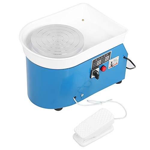 Elektrische Töpferscheibe Maschine, DIY Keramikformmaschine mit verstellbaren Füßen DIY Clay Tool für Keramikarbeiten Clay Art Craft Keramik Schulklasse (1#)