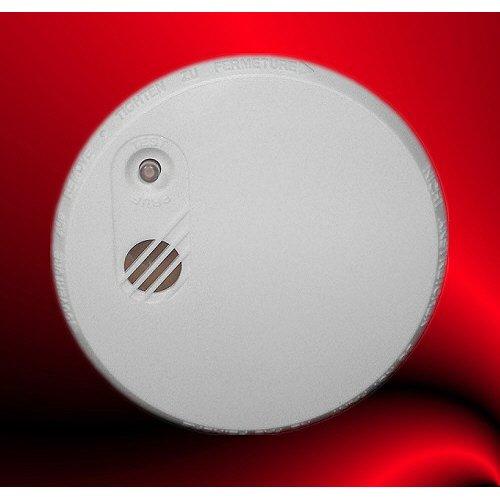 Preisvergleich Produktbild Rauchalarm, Rauchmelder mit VdS Zulassung, Farbe: weiß