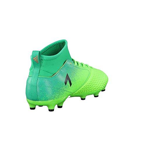 Ace 17.3 FG Primemesh Enfants - Crampons de Foot - Vert Solaire/Noir/Vert Vert (Versol/negbas/verbas)