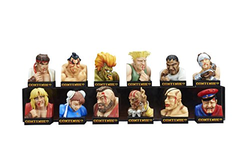 Street Fighter II Mini Figures Box Set Losing Face Figure Collection 5 cm Embrace Japan