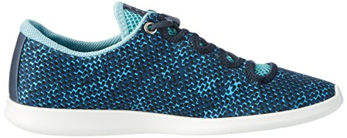 Ecco Sense, Baskets Basses Femme Blau (50561NAVY/AQUATIC/MARINE)