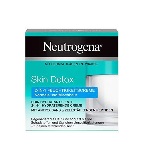 Neutrogena Skin Detox 2-in-1 Feuchtigkeitscreme, regenerierende und schützende Feuchtigkeitscreme...