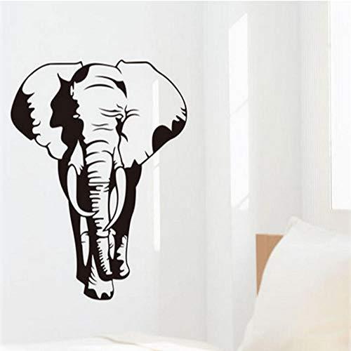 Classic Retro Elephant Art Mural Pegatinas de Pared Diy Vinilo Removible Decoración...