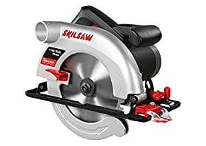 Skil 5255AA Scie Circulaire 55 mm (1150W, Raccord pour Aspirateur, Guide Parallèle, Lame 170 mm)
