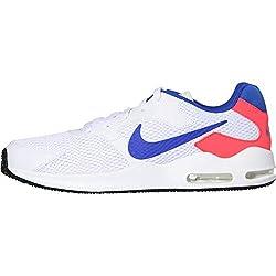 Nike Herren Air Max Guile Freizeitschuhe, Weiß (weiß / blau / rot weiß / blau / rot), 44 EU