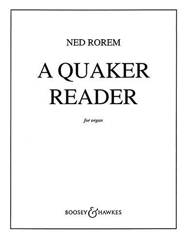 a-quaker-reader-elf-stucke-fur-orgel-orgel