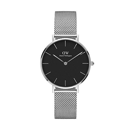 Daniel Wellington - Reloj de mujer de malla metálica de 32mm, ref.:DW00100162A