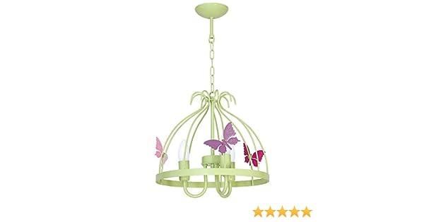 Plafoniera Per Cameretta Bimba : 9797 lampadario in acciaio da soffitto per cameretta bambini