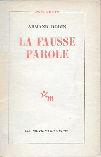 La Fausse Parole [Pdf/ePub] eBook