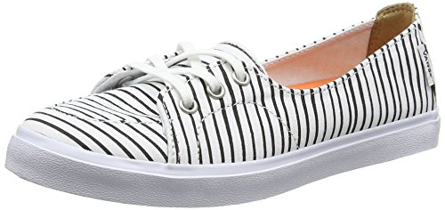 Vans Damen Palisades Sf Sneaker Weiß (just Stripes/true White/black)