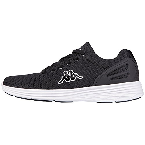 Kappa - TRUST, Sneakers unisex, color Nero (1110 black/white), talla 42