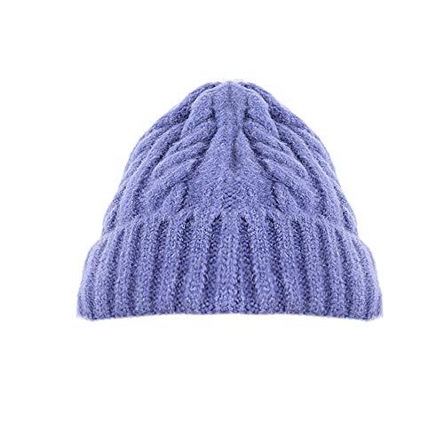 FOANA Beanie Mütze Feinstrick, Slouch Strickmütze, doppelt gestrickt, warm und sehr weich, Unisex