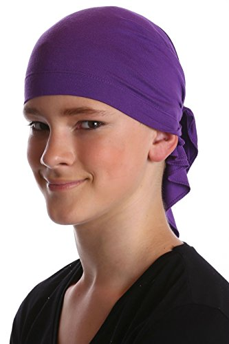 Bandana coton pour les garçons Violet
