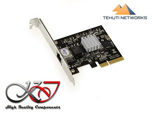 Kalea Informatique Karte Controller PCIe Ethernet 10GBASE, 5GBASE 2.5GBASE 1000Base-T, 100Base-TX-Anschluss RJ45-Chipsatz Tehuti tn4010+ Marvell Alaska 88x 3310p -