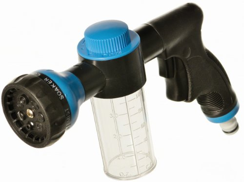 Lance pistolet professionnel avec réservoir shampooing