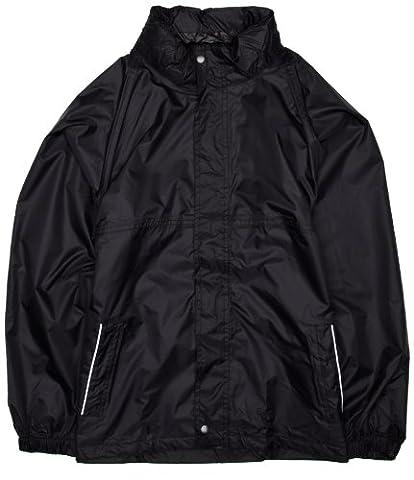 Regatta Children's Packaway Leisurewear Jacket - Black, Size 3-4
