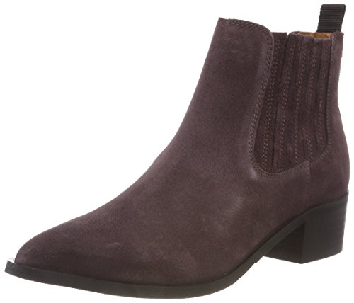 SELECTED FEMME Damen SLFELENA New Suede B Chelsea Boots, Braun Decadent Chocolate, 39 EU