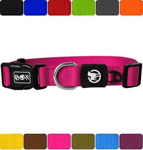 DDOXX Collar Perro | Nylon | Perros Grandes, medianos