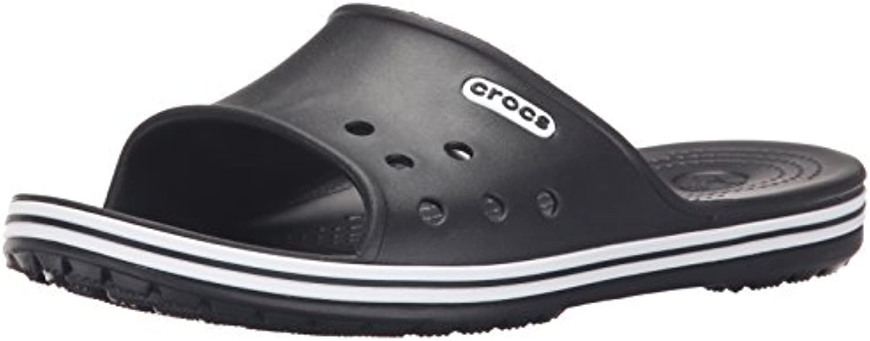 crocs Crocband LowPro Slide 15692 Crocband Slide - Chanclas para hombre, color negro, talla 39-40  -