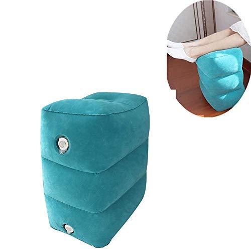 Tragbares aufblasbares Reise-Fußstützenkissen, Schlaf-wesentliches Artefakt, freie Justage-Schichten, faltbar, einfach zu tragen, verwendbar für Haus, im Freien -