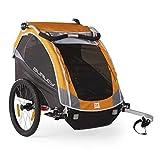 Burley 960101 - Custodia per carrello pieghevole trasporto bambino, taglia unica, colore: Arancione