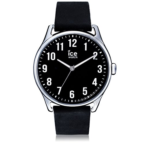 ICE-Watch Time Man Stopwatch Watch with Black Dial Analogue Display - 13043
