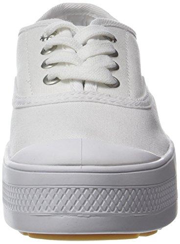 Palladium Sub Low Canvas, Sneaker Donna Bianco (White 420)