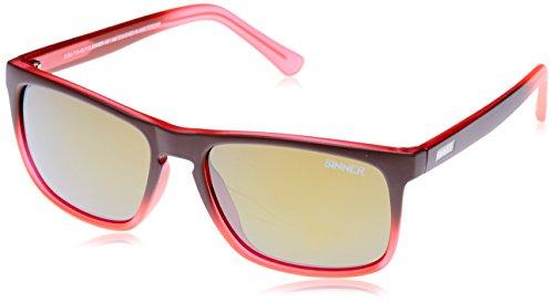 Sinner Oak Sonnenbrille Braun/Orange Matt