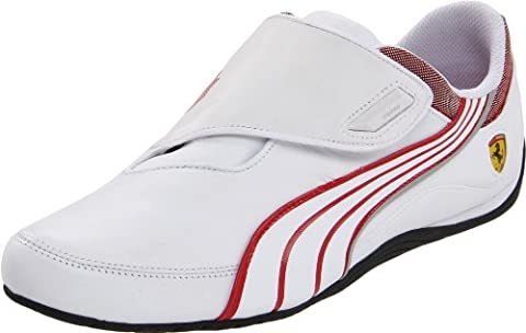 Puma Drift Cat Iii Cf Sf Mens, White/Rosso Corsa, 44 EUR, D