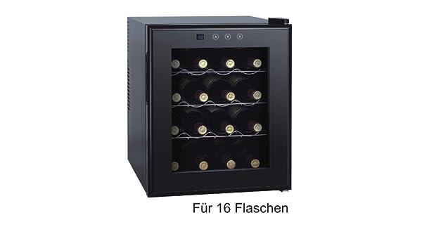 Mini Kühlschrank Mit Glas : Starke weinkühlschrank weinkühler l led touch display