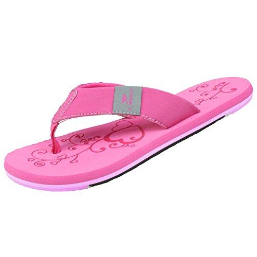 Bockstiegel Damen Zehenstegpantolette Katrin, Größe:39, Farbe:pink