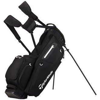 TaylorMade Golf 2017 FlexTech Stand Bag Mens Carry Bag 5-Way Divider Black