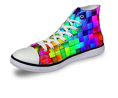 Girls High-Top Canvas Sneakers Shoes Women Running Shoes Outdoor Vulcanize Shoes CA5311AK Women¡®s us Size 5