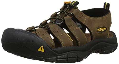 Keen NEWPORT 110220-BISN, Herren Outdoor Sandalen, Braun (Bison), 47 EU (12 UK) (Für Sandalen Größe Leder 15 Männer Aus)