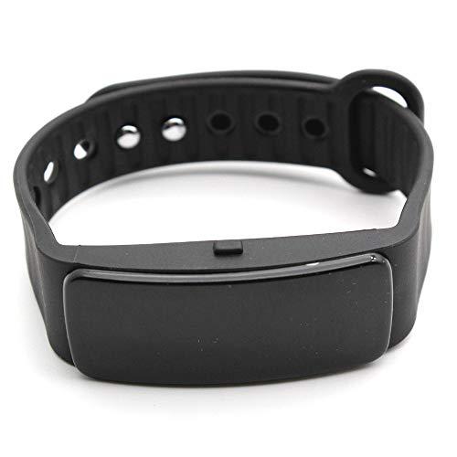 Happy-day Damen Smartwatch Sport Fitness Activity Herzfrequenz-Tracker Blutdruck-Uhr Smartwatch für Herren S Schwarz