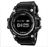 Bblank Herzfrequenzsensor Smart Watch Sportaktivität Tracker Uhr Aktivitätsverfolgung mit Herzfrequenz-Schrittzähler Schrittzähler Kalorienzähler Sekunden