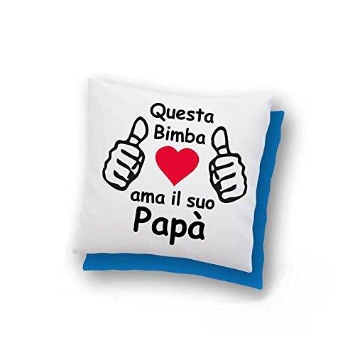 Cuscino personalizzato per la festa del papà
