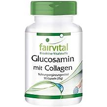 Glucosamina con Colágeno - 1 mes - ALTA DOSIS - 90 Cápsulas