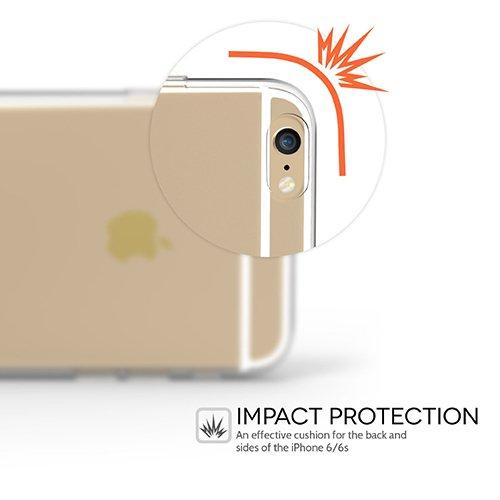 iPhone 7 Plus Hülle, UCMDA Transparent Weiche Silikon Hülle Muster TPU Case, Ultra Dünn Kratzfeste and Schützt vor Schmutz Schutzhülle Handyhülle für iPhone 7 Plus (5,5 Zoll) - Feder Cute Whale