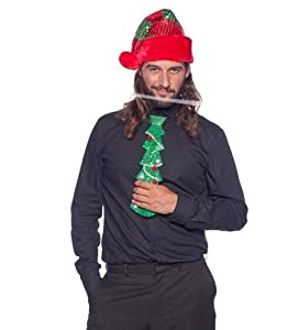 Folat Corbata Verde * árbol de Abeto * como Revestimiento para Navidad y Mot