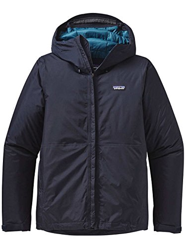 Patagonia Herren Insulated Torrent Shell Jacke, Marineblau, S
